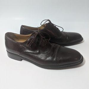 Mezlan men's shoes 10.5 dress shoes brown oxfords